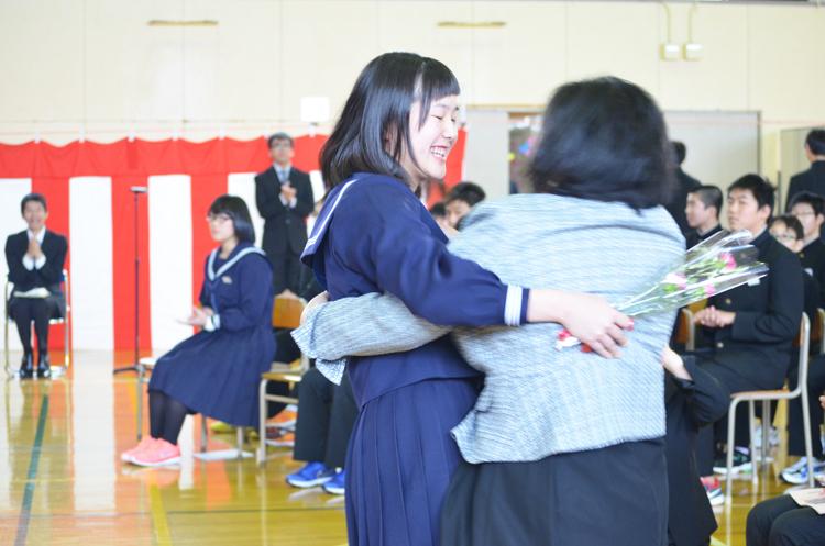 大成中学校卒業式