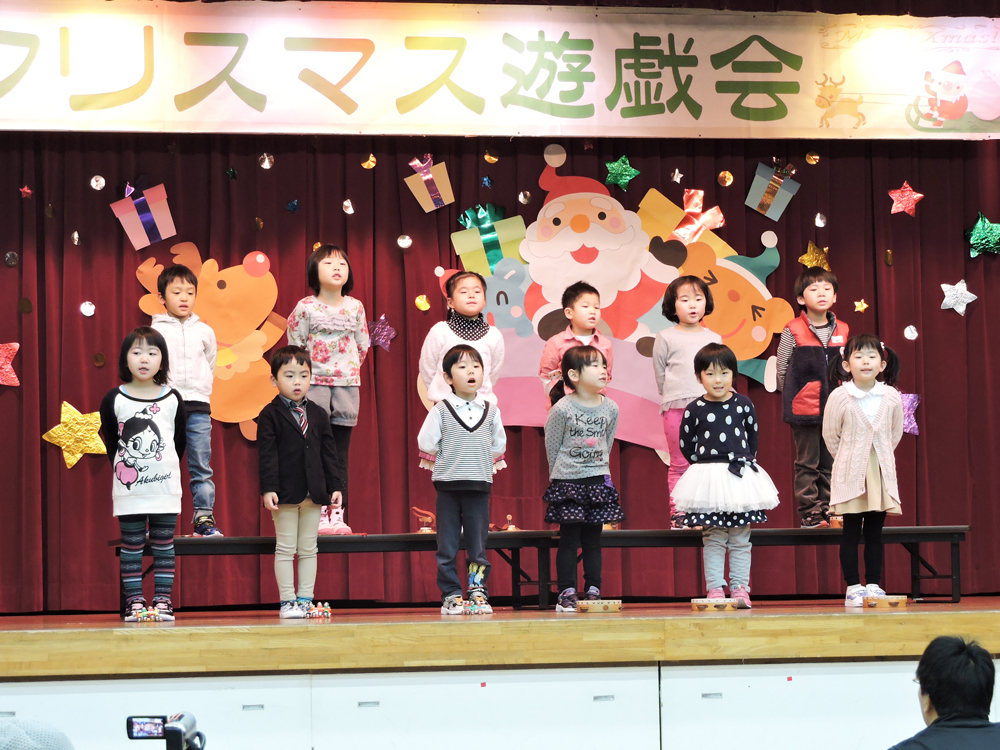 2015瀬棚保育所お遊戯会