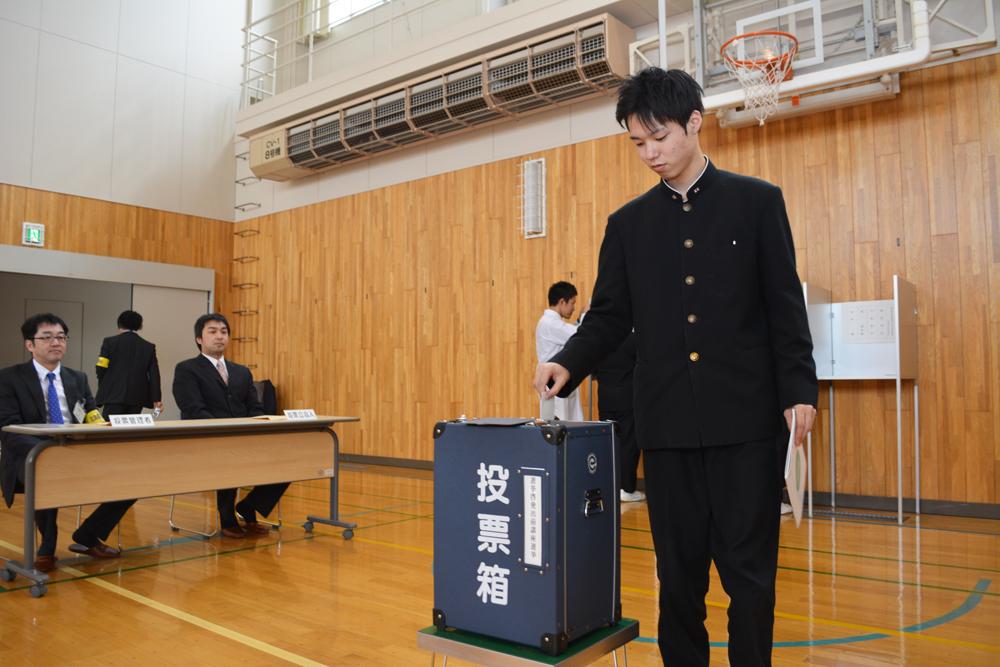 平成27年度選挙啓発高校生出前講座