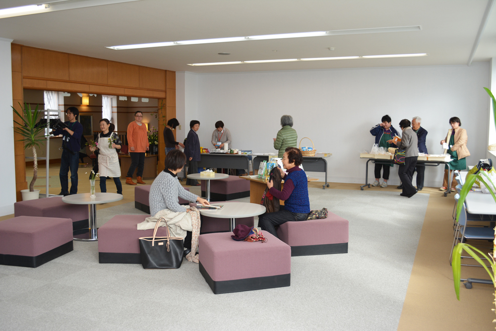 図書館deカフェ