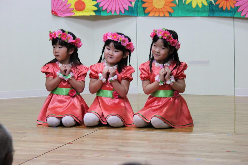 2015北檜山幼稚園お遊戯会