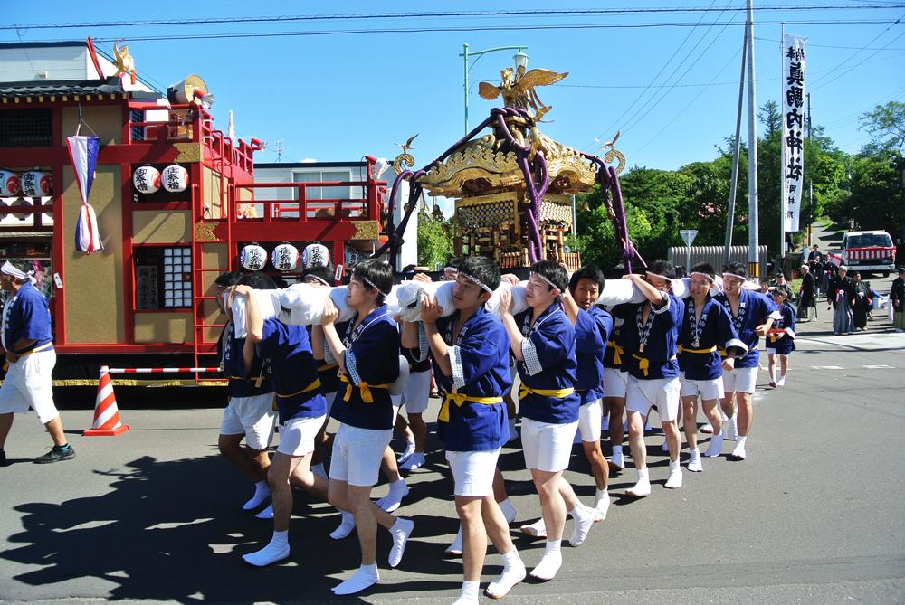 真駒内神社例大祭