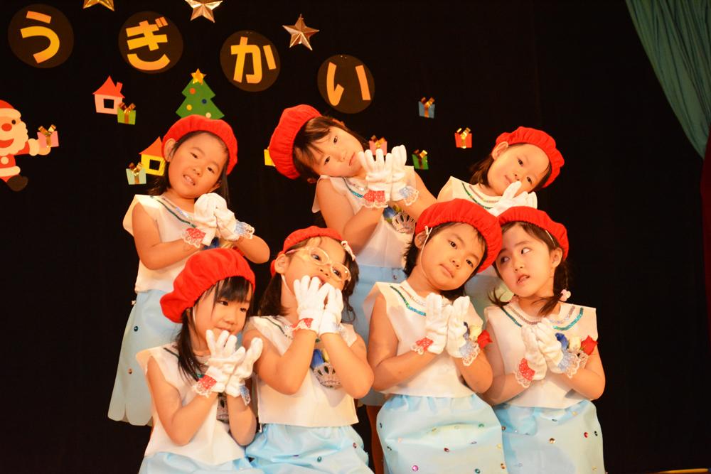 2015北檜山保育所クリスマスお遊戯会