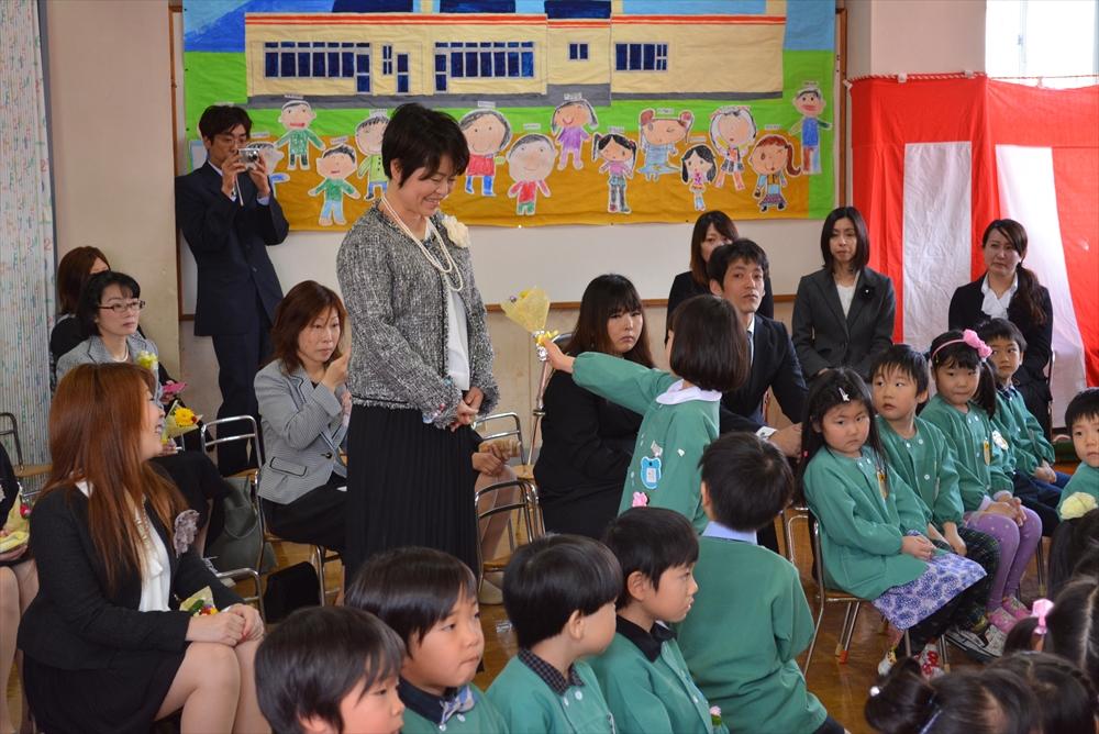 2017北檜山幼稚園卒園式2