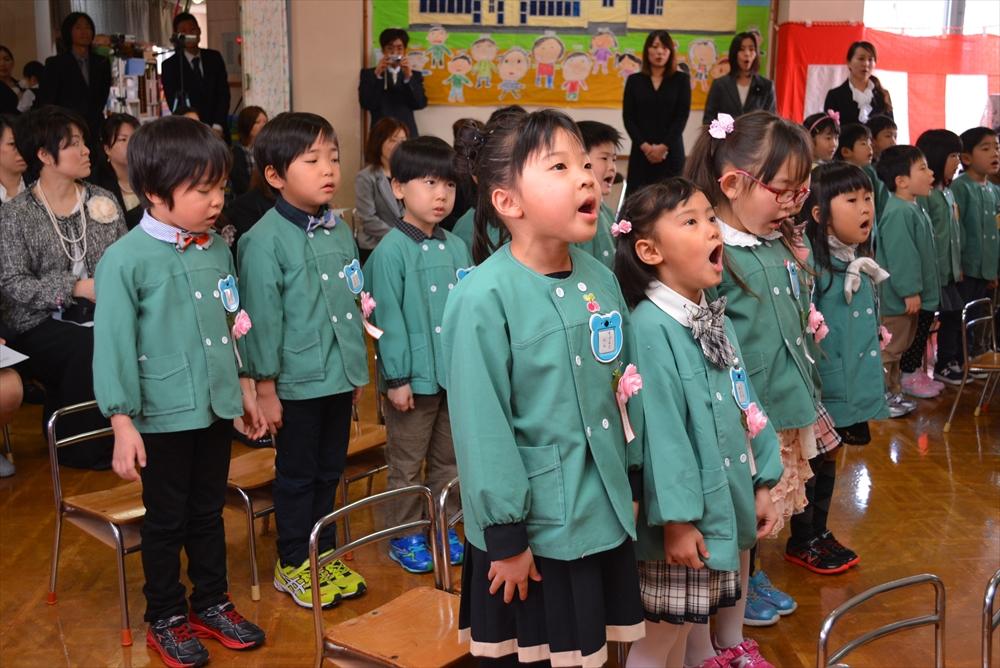 2017北檜山幼稚園卒園式3