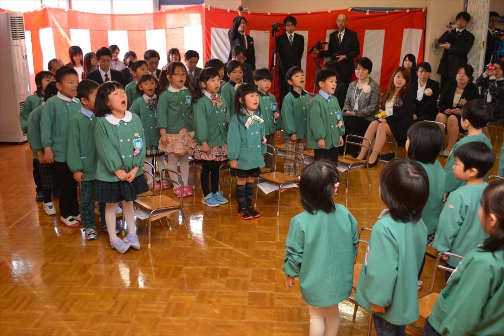 2017北檜山幼稚園卒園式4