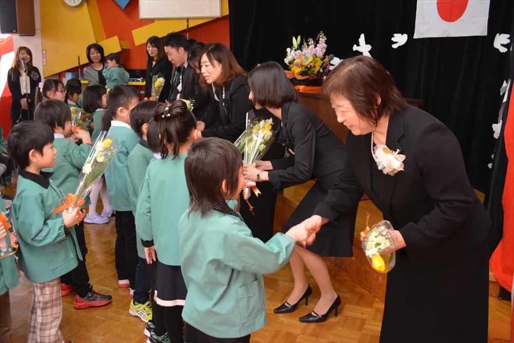 2017北檜山幼稚園卒園式5