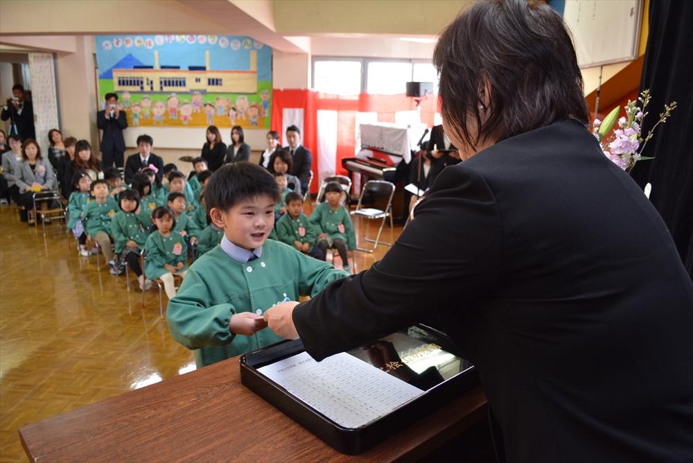 2017北檜山幼稚園卒園式1
