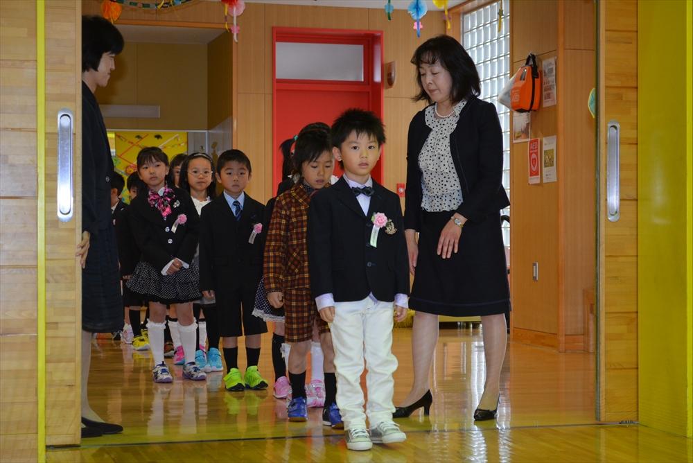 2017北檜山小学校入学式1