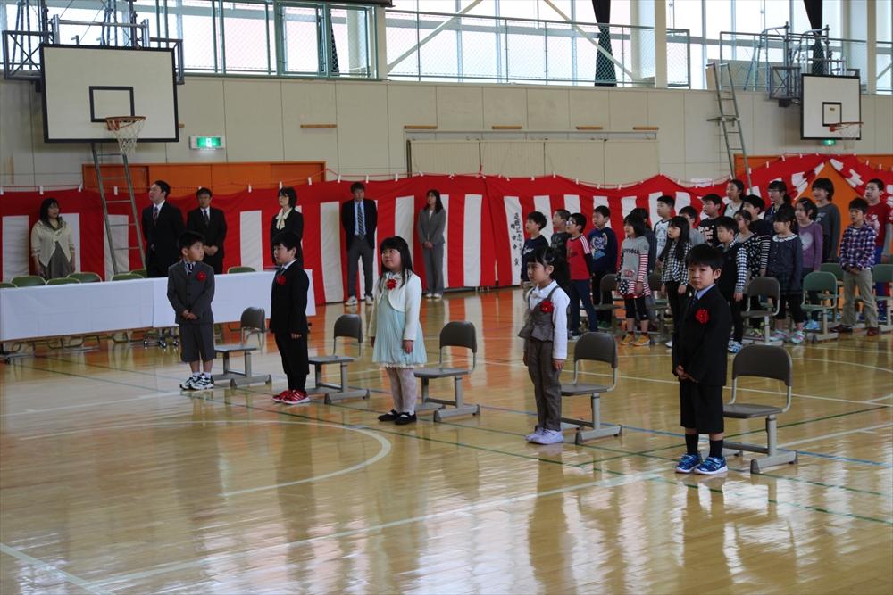 2017久遠小学校入学式1