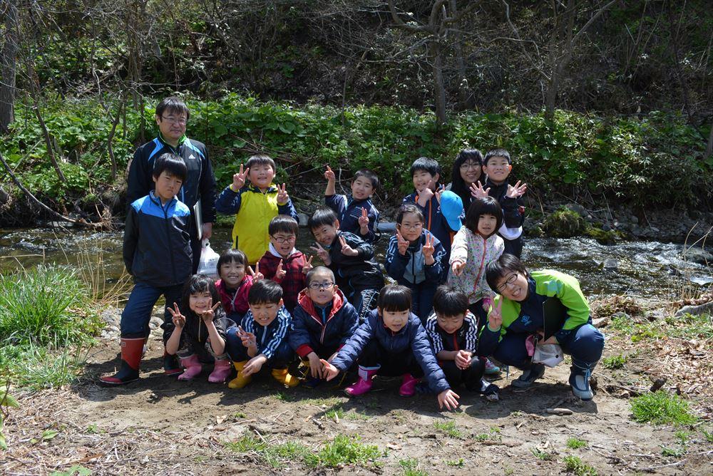 2017サケの放流事業(貝取澗)4