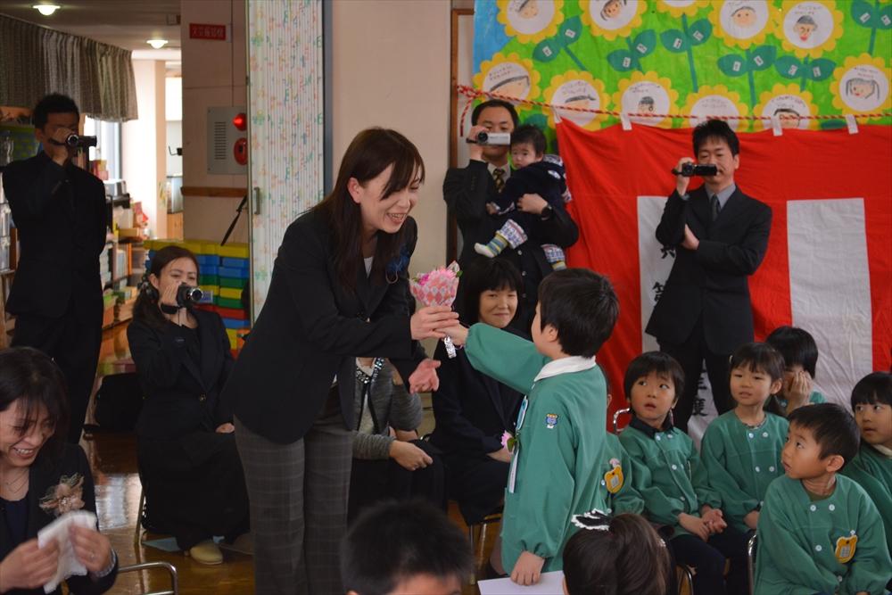 H27北檜山幼稚園卒園式2