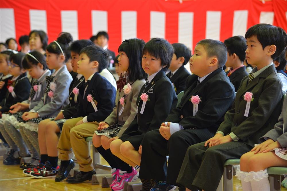 H28北檜山小学校入学式2