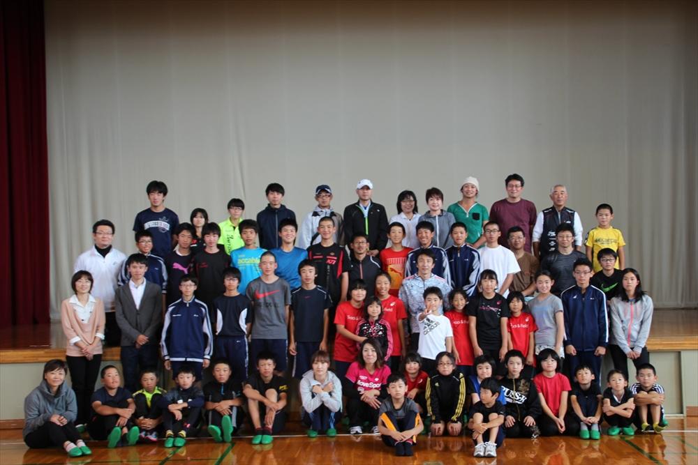 朝原宣治実技教室&トークショー8