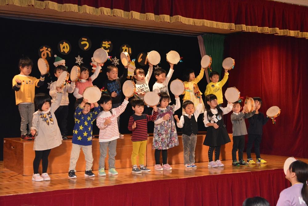 2016お遊戯会(北檜山保育所)1