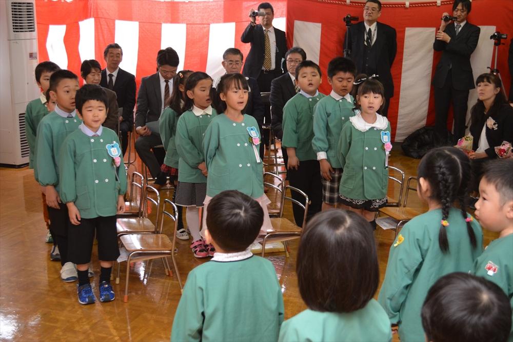 H27北檜山幼稚園卒園式4