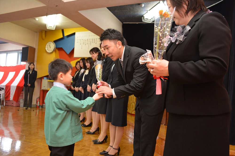 H27北檜山幼稚園卒園式5
