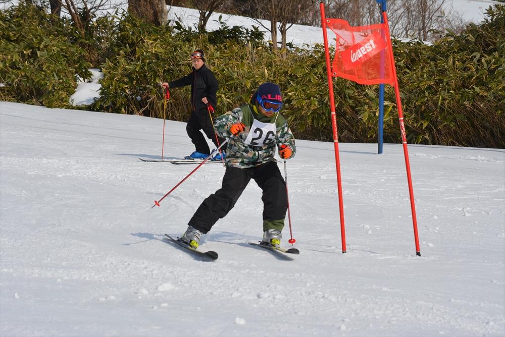 町民スキー大会1