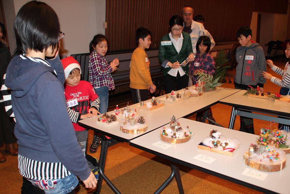 H29クリスマス「アート教室」03