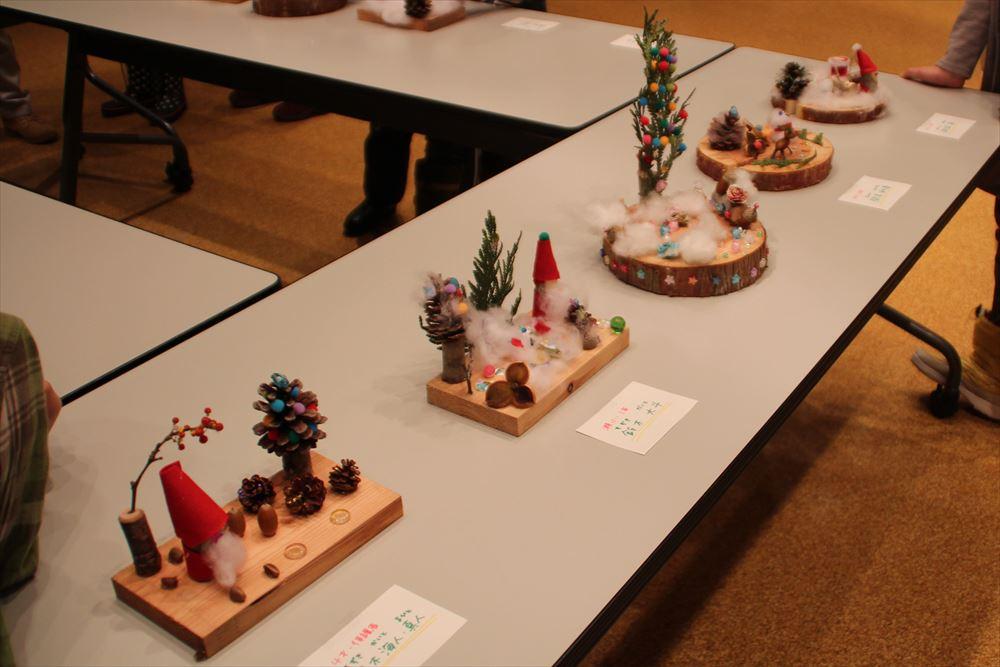 H29クリスマス「アート教室」04
