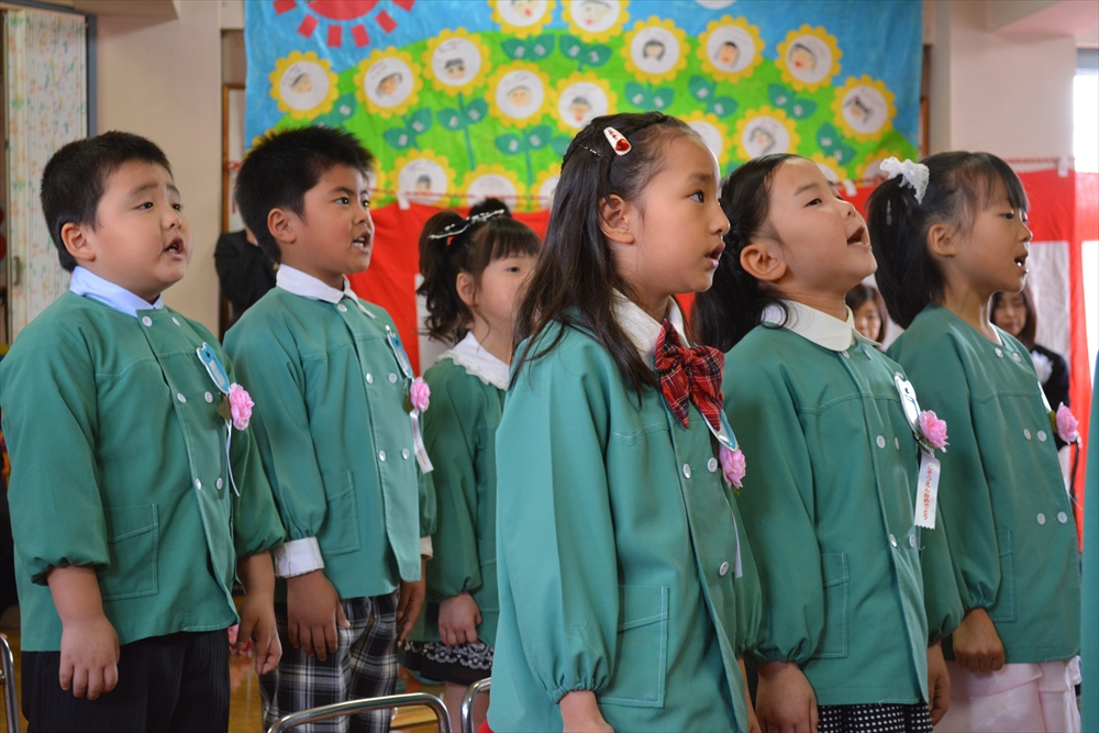 H27北檜山幼稚園卒園式3