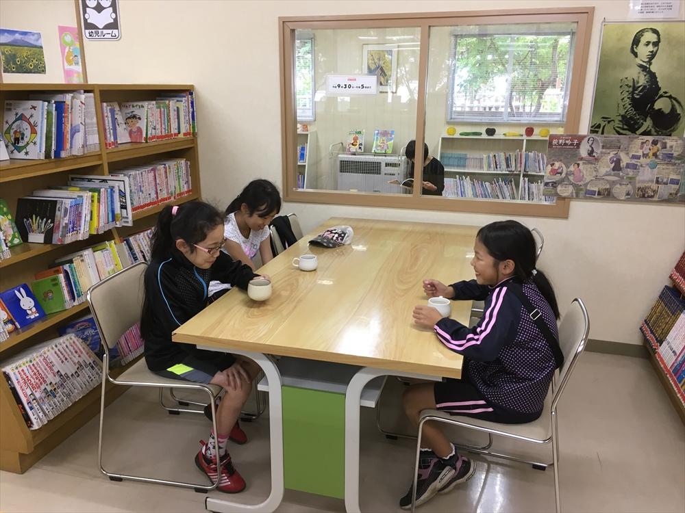 瀬棚図書センター「図書館deカフェ」4