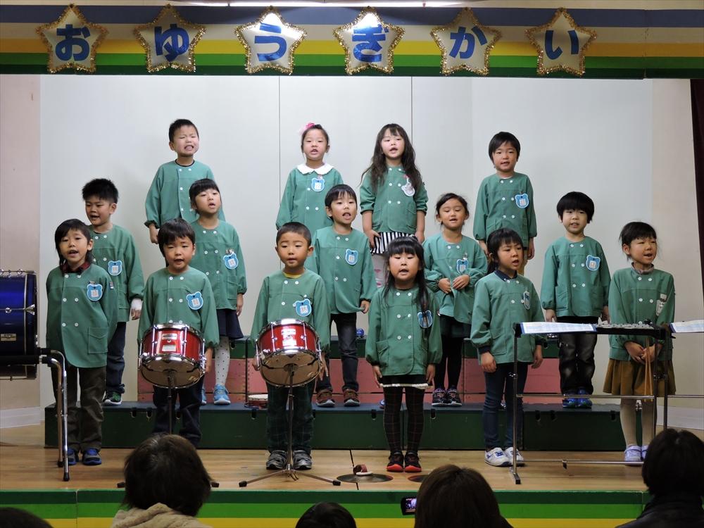2016お遊戯会(北檜山幼稚園)1