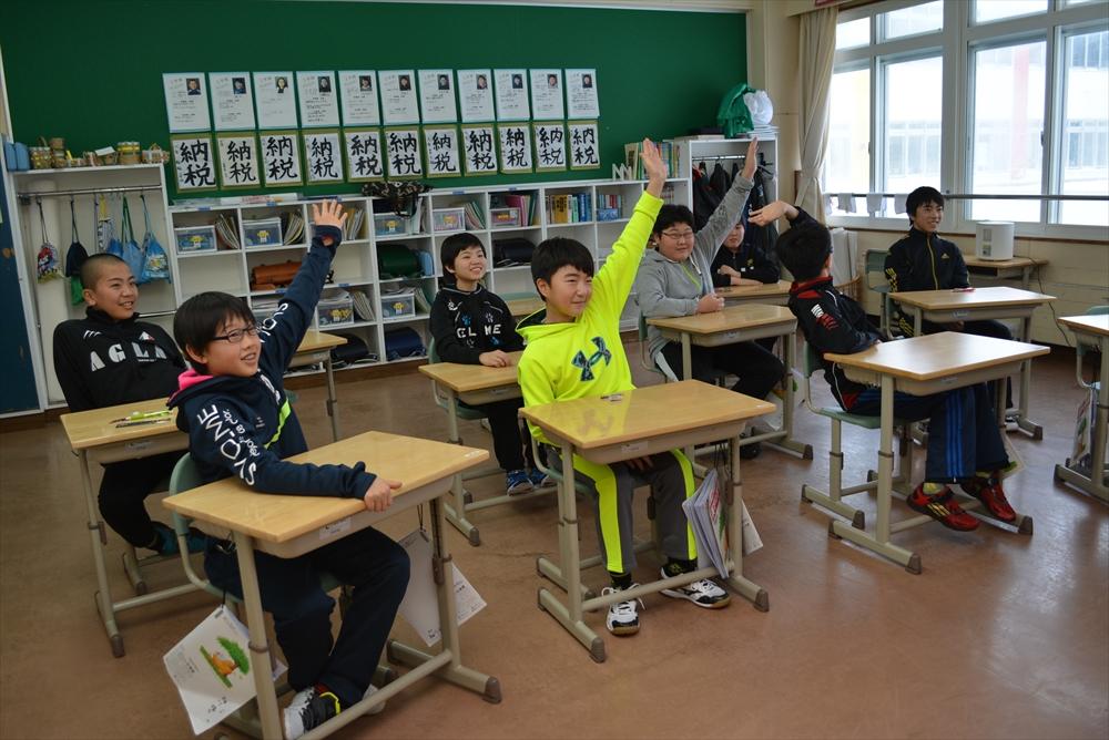瀬棚小学校租税教室3