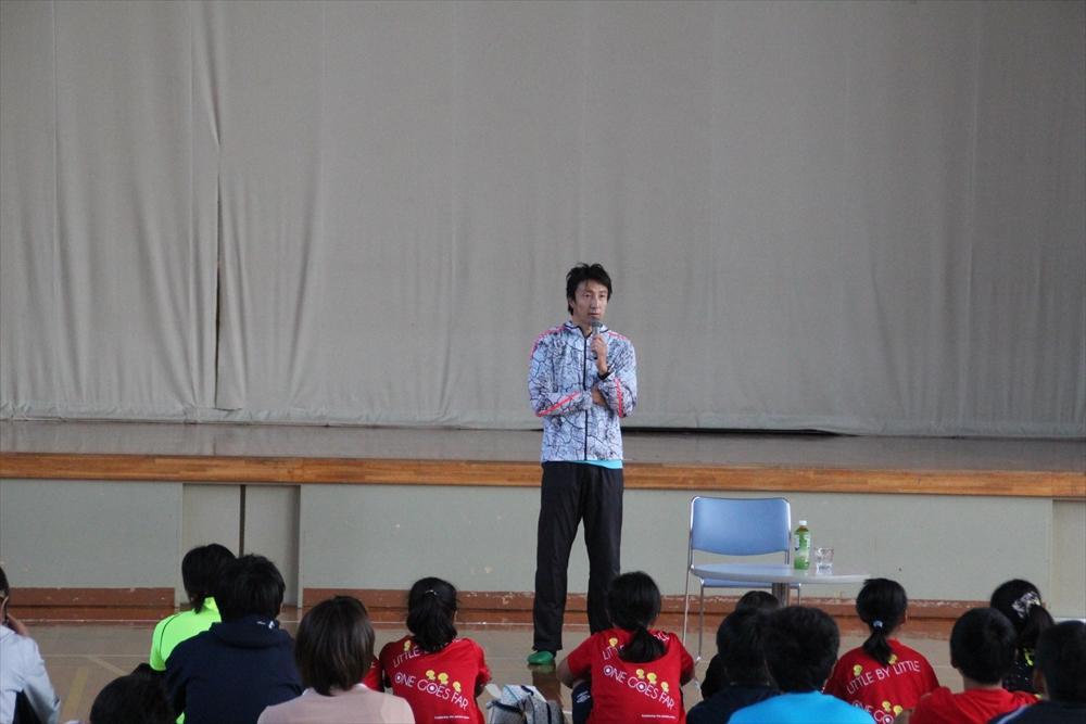 朝原宣治実技教室&トークショー6