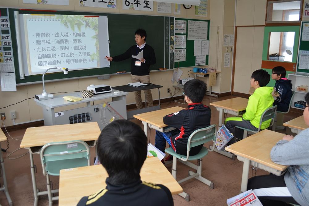 瀬棚小学校租税教室2